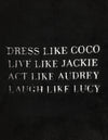 Black Robe- Dress Like Coco