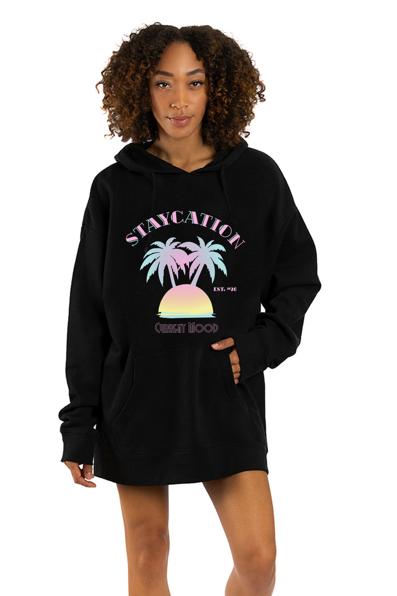 DRIX OVERSIZED HOODIE - Staycation
