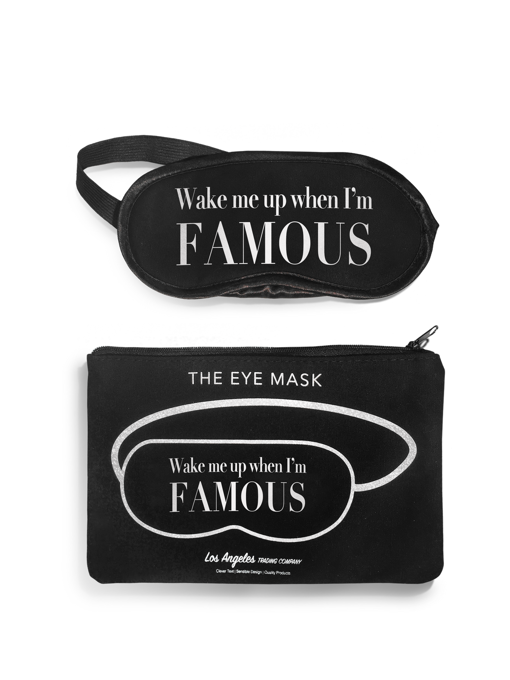 Eye Mask- Wake Up Famous
