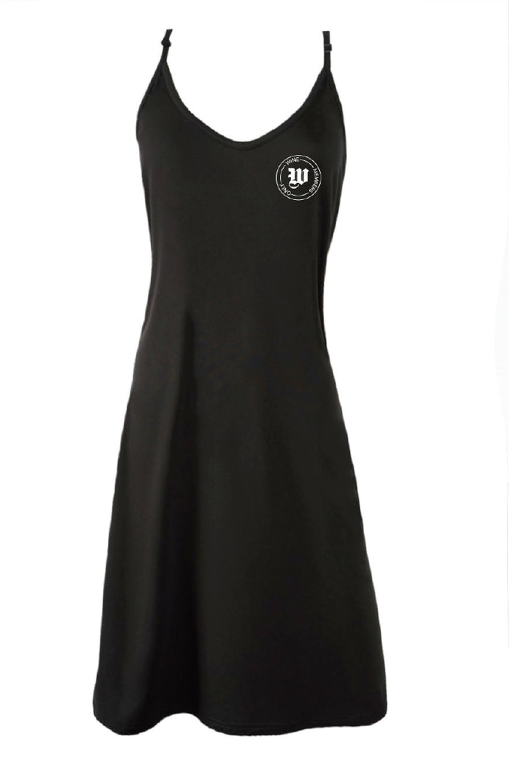 SLIP DRESS - Wine Members Only