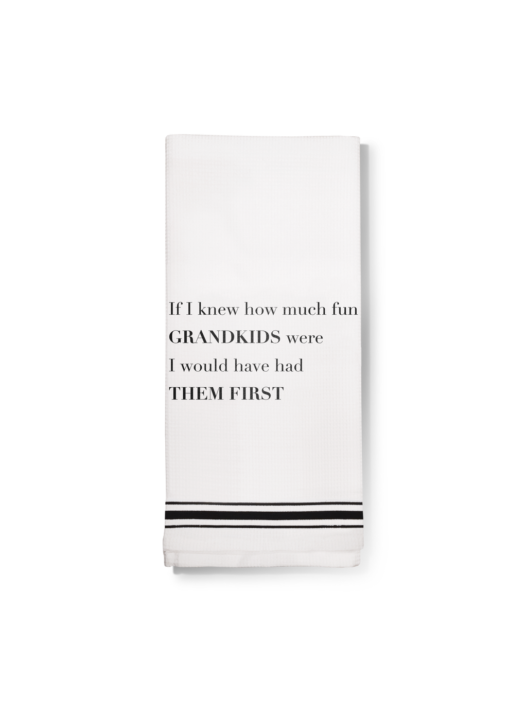 Towel- Grandkids First