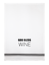 Towel- God Bless Wine