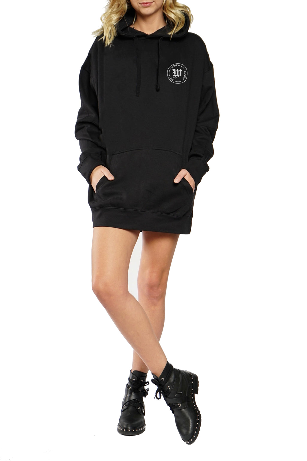 OVERSIZED HOODIE - Wine Lover's Only