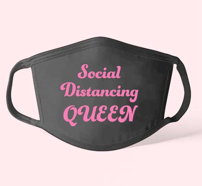 FACE MASK -Social Distance Queen