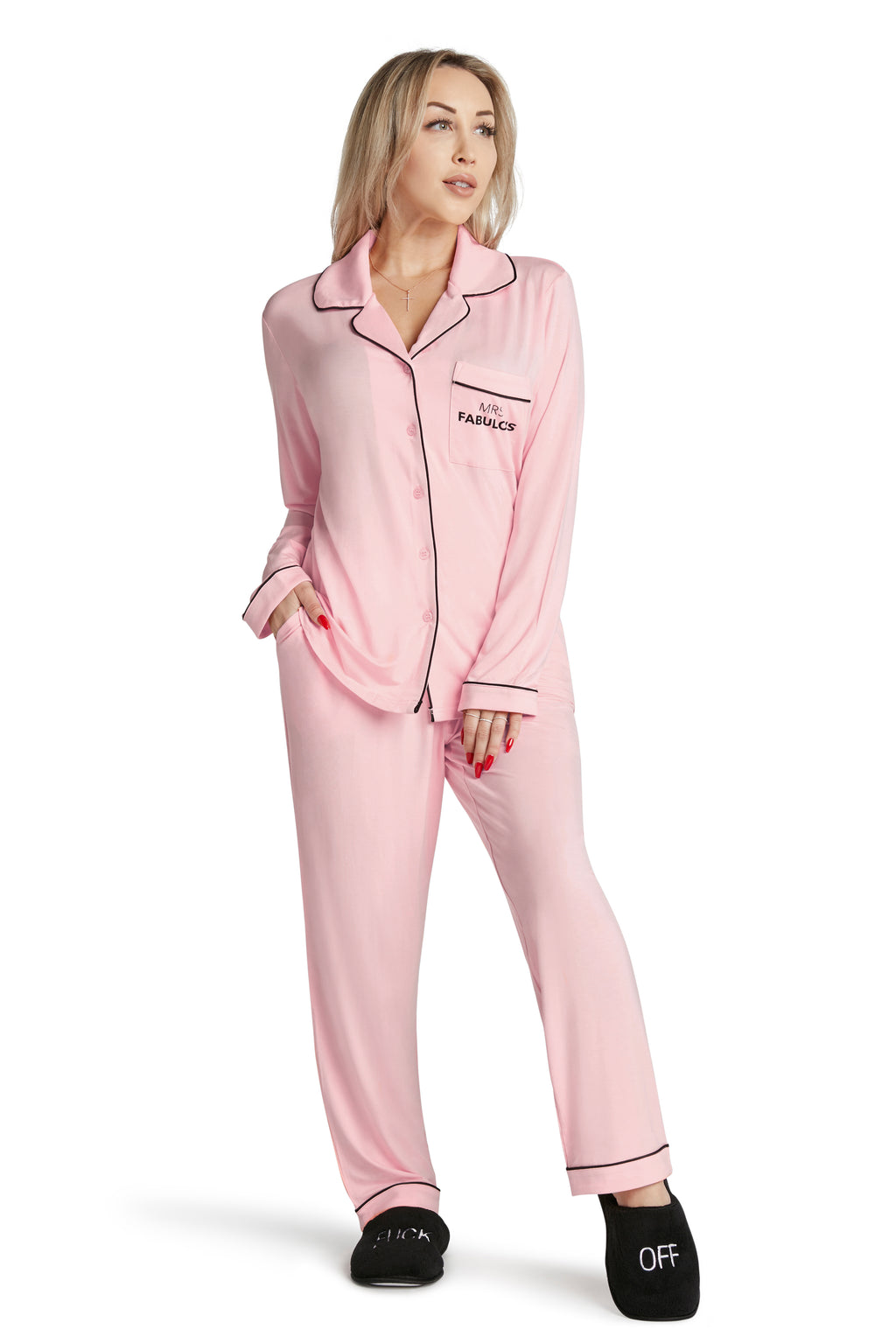 Lightweight Pajama Set- Mrs. Fabulous
