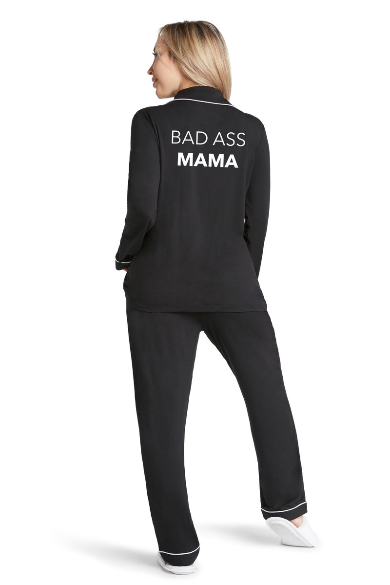 Lightweight Pj Set- Bad Ass Mama