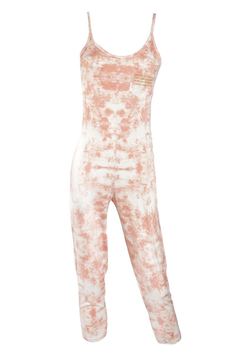 JUMPSUIT TIE DYE- Dress Like Coco