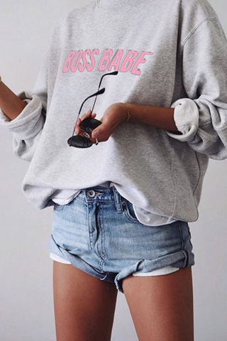 WOMEN'S CREWNECK - Good Girl Vibes