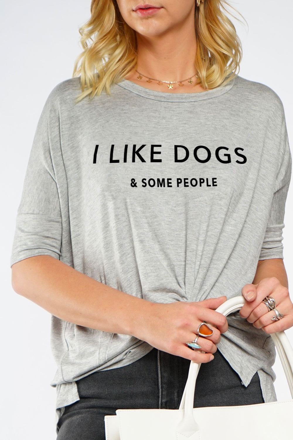 MIMI TEE - I Like Dogs & Some People