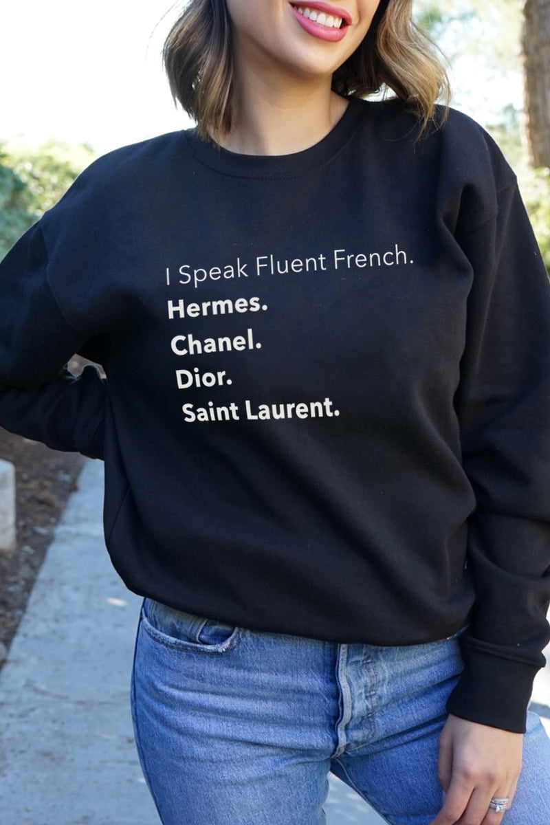 CREWNECK - Fluent French