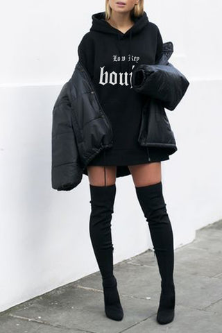 OVERSIZED HOODIE - Only Good Vibes