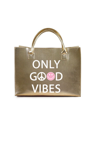 MODERN VEGAN TOTE - Low Key Boujee (Black)