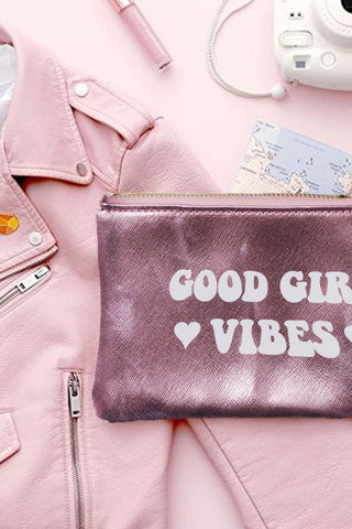 VEGAN CROSSBODY BAG - Rollin' with the Homies - Silver