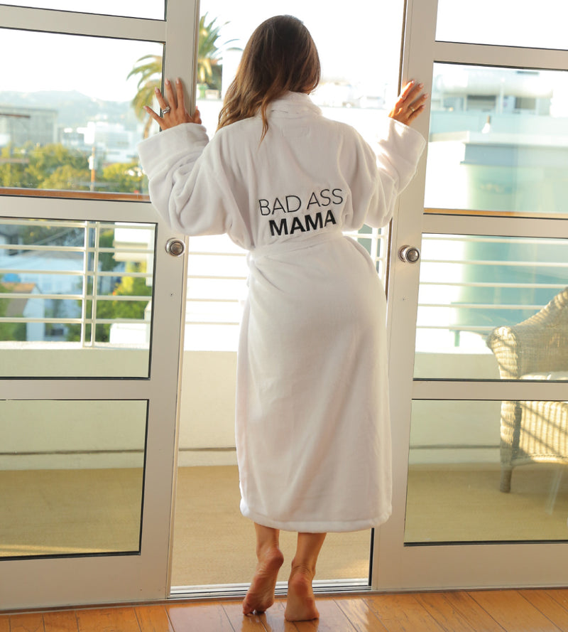 LUXE PLUSH ROBE  - Bad Ass Mama x Melissa Molinaro