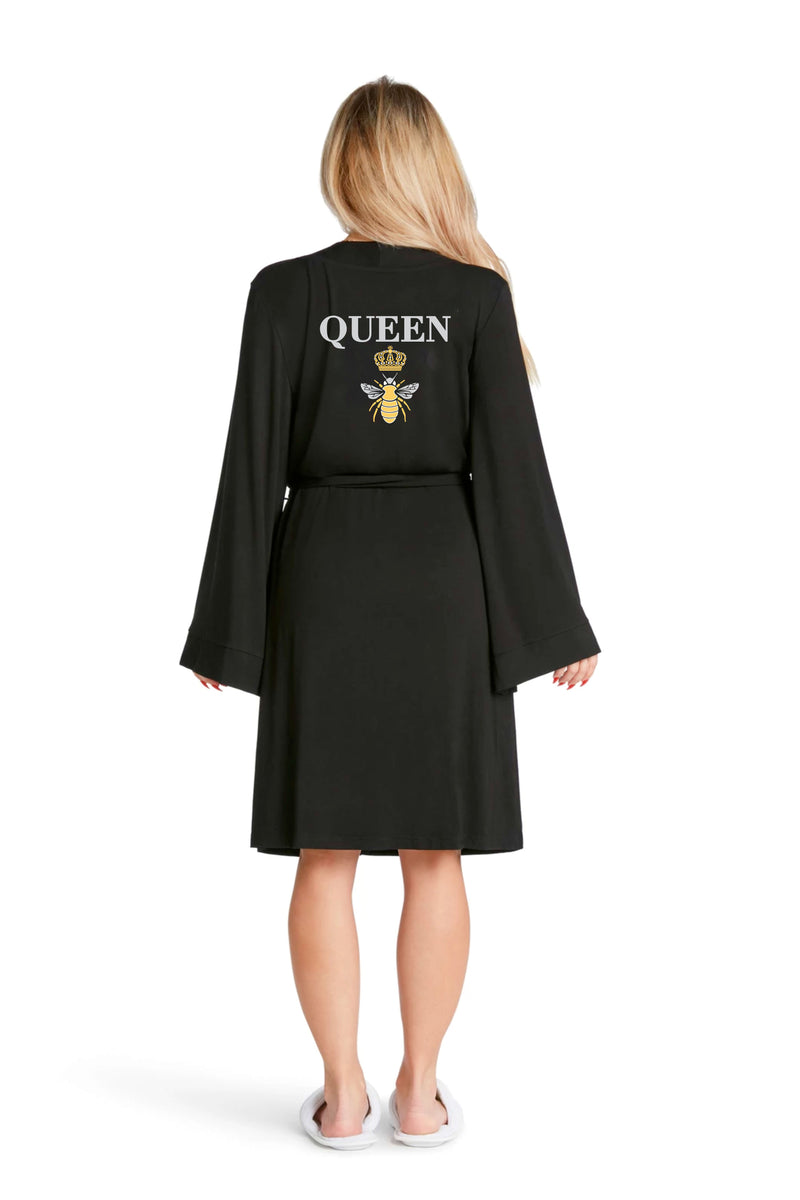 LIGHTWEIGHT ROBE - Queen Bee
