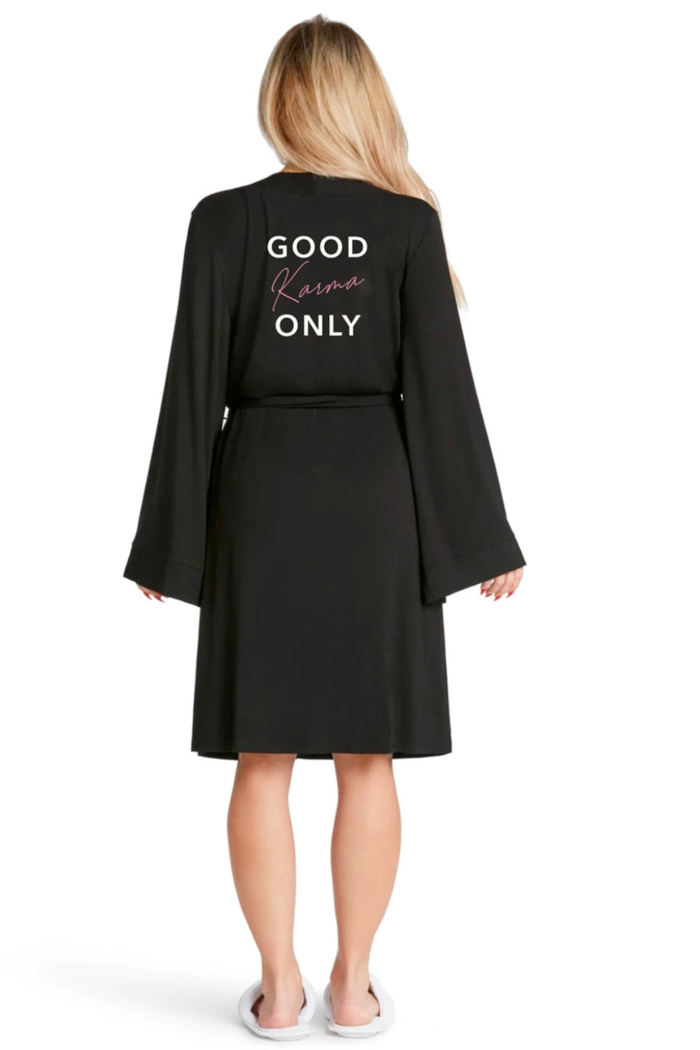 LIGHTWEIGHT ROBE - Good Karma Only