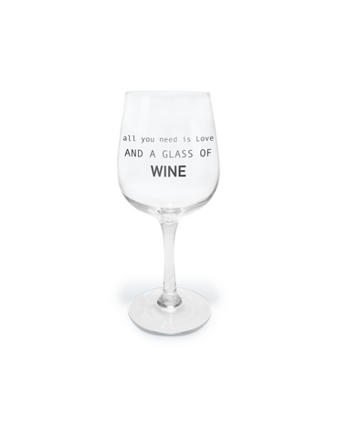 Wine Glass- 15 oz. Dress Like Coco