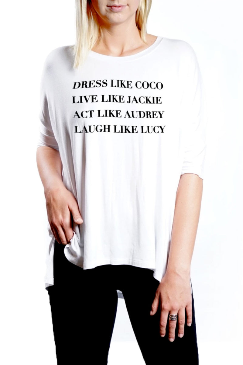 MIMI TEE - Dress Like Coco