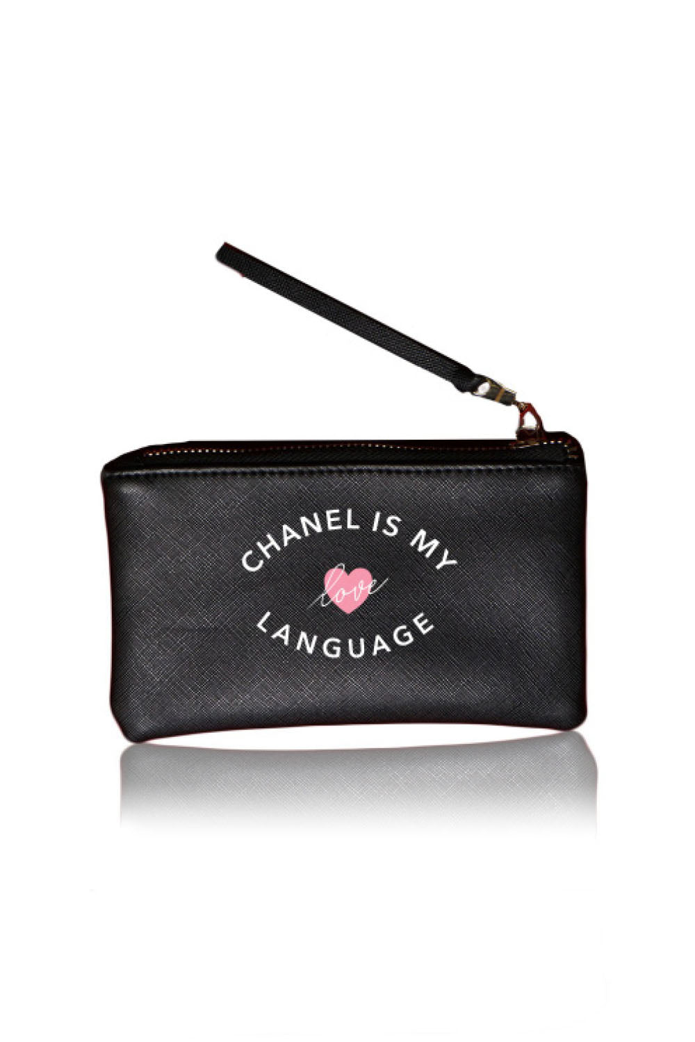 VEGAN POUCH - Chanel Is My Love Language