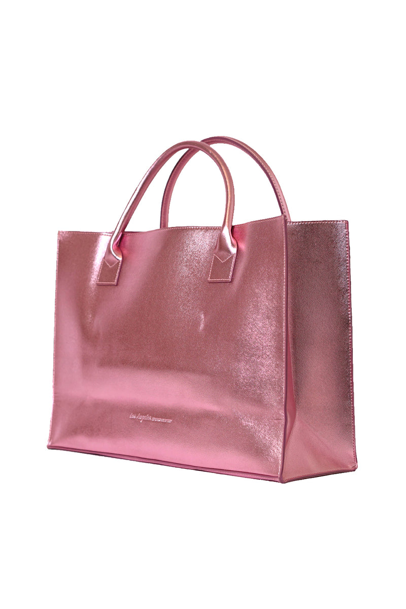 MODERN VEGAN TOTE - Dress Like Coco (Pink)