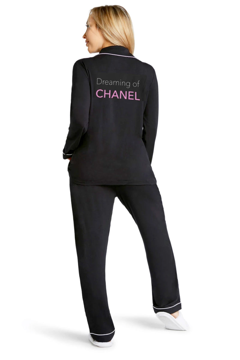 Lightweight Pajama Set-Dreaming of Chanel