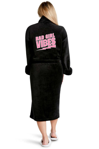 Luxe Plush Robe - Boss Babe