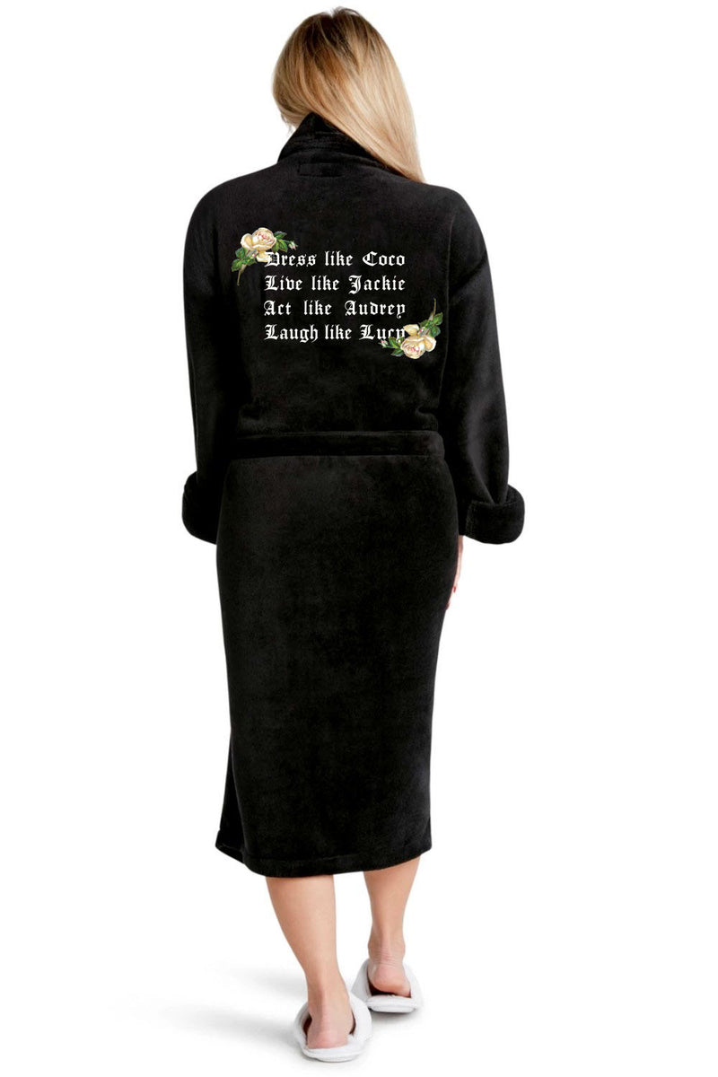 Luxe Plush Robe - Dress Like Coco OE