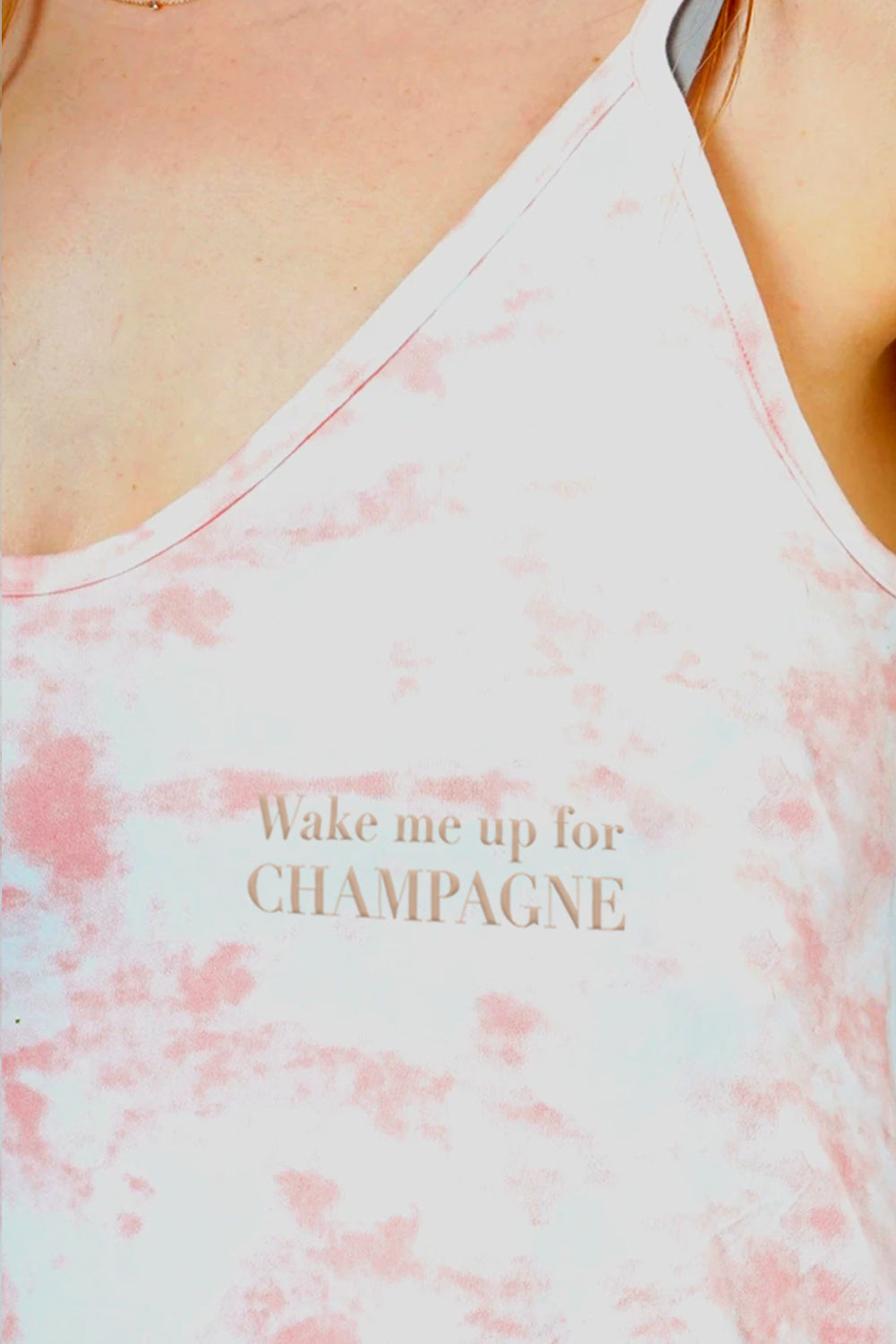 SLIP DRESS - Wake Up Champagne