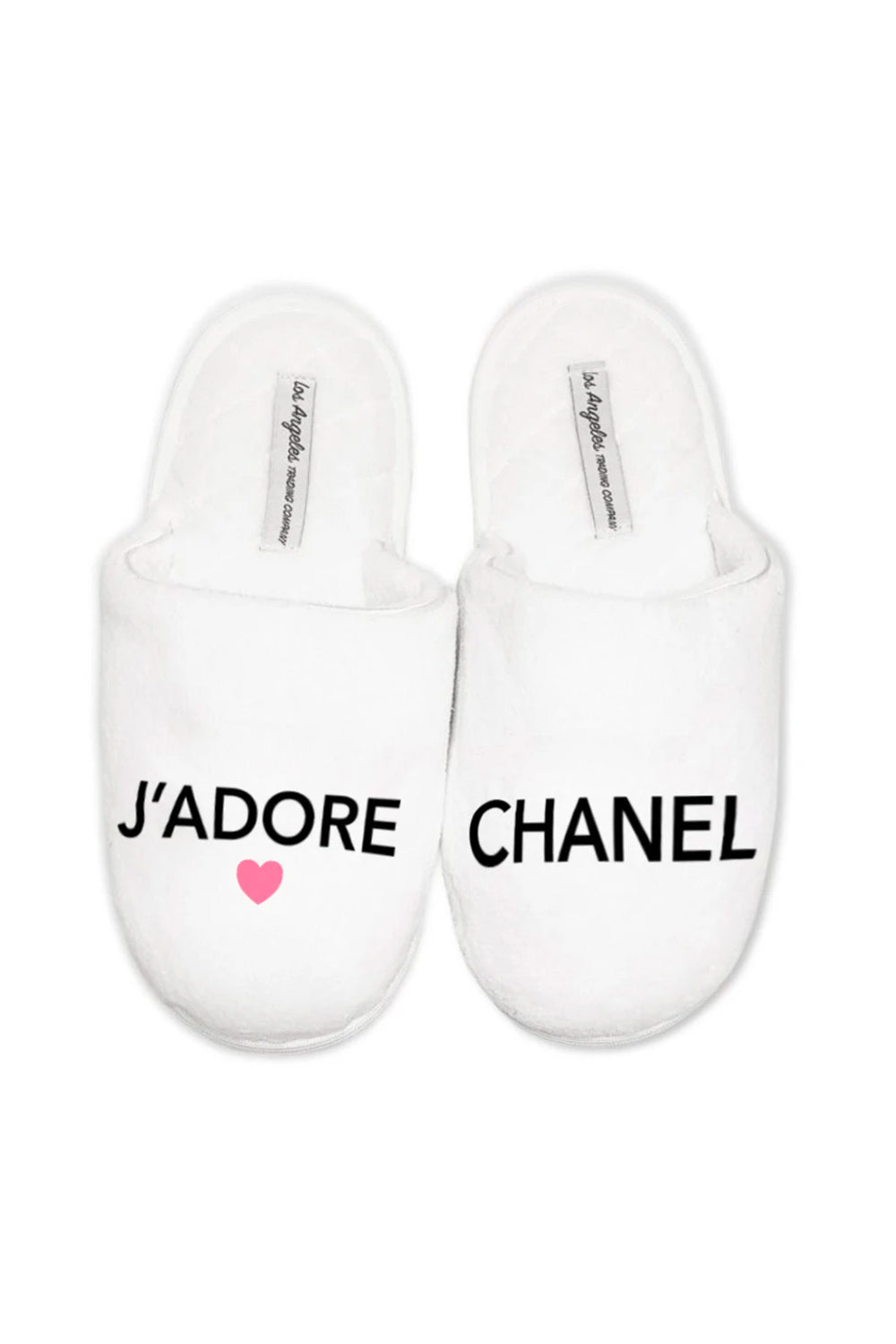 Adore Los Angeles 1) slippers - j'adore chanel – los angeles trading company