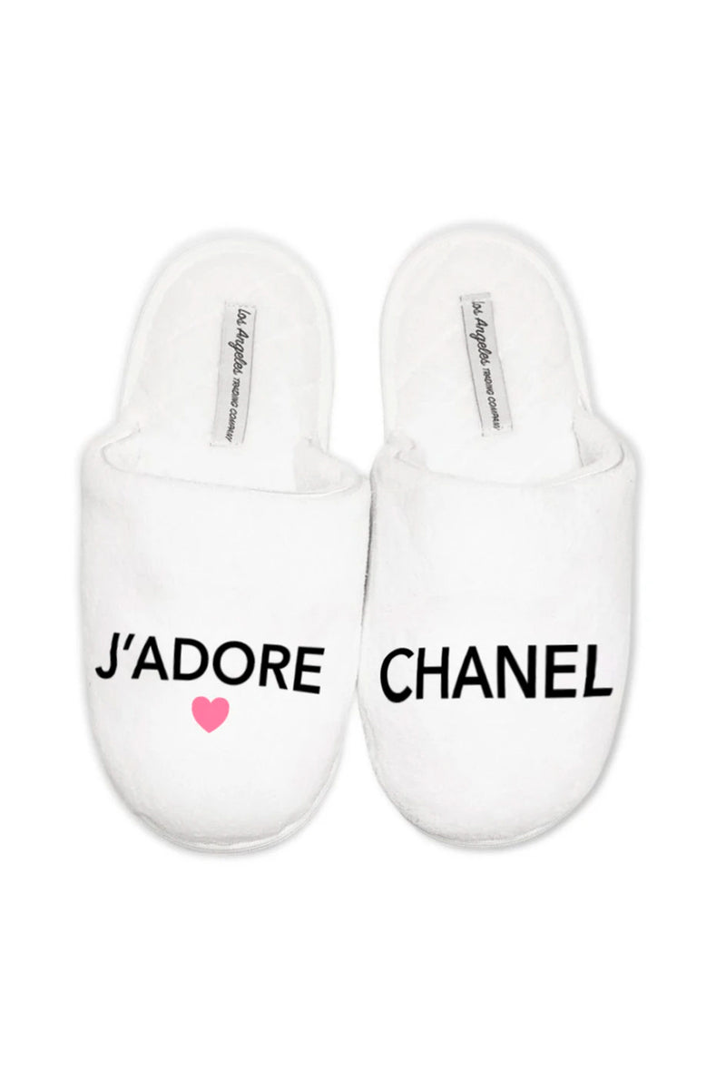 SLIPPERS - J'adore Chanel