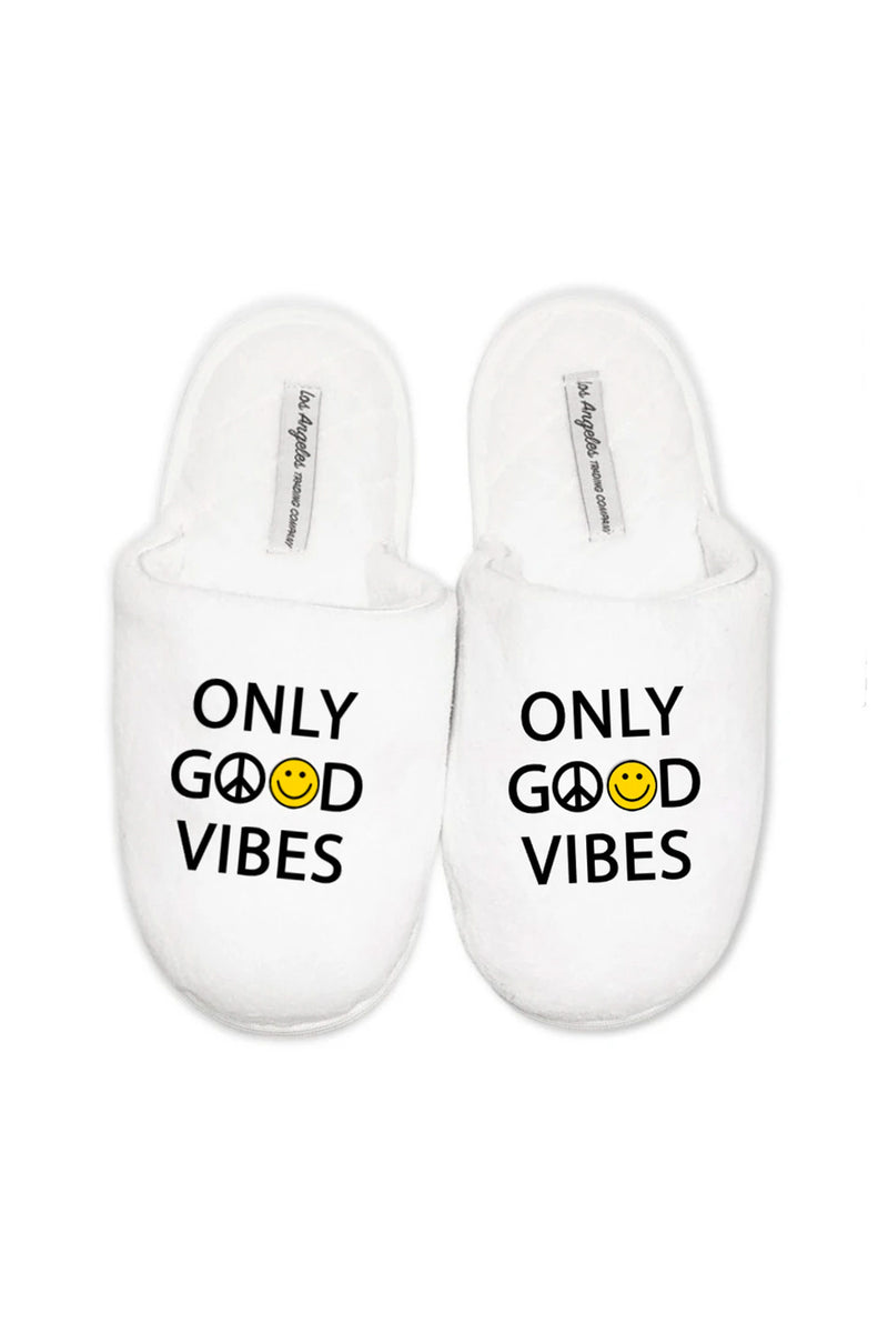 SLIPPERS - Only Good Vibes