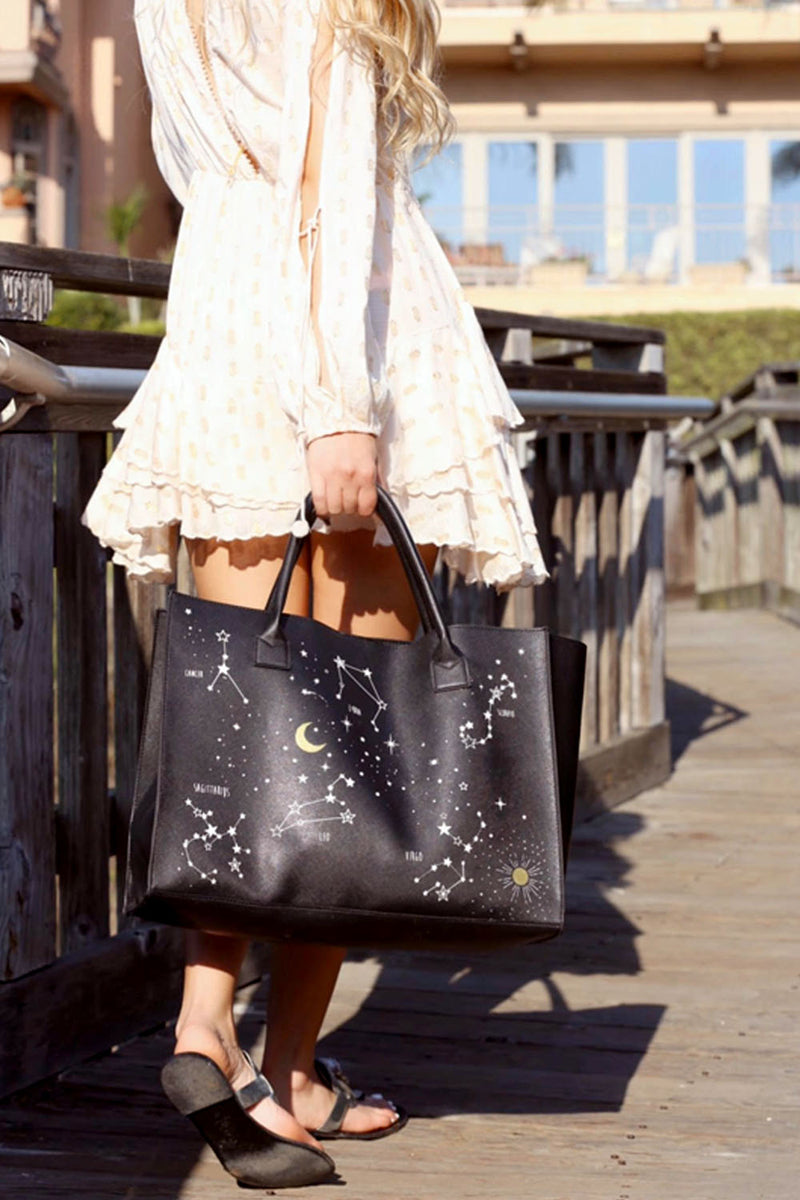 MODERN VEGAN TOTE - Horoscopes
