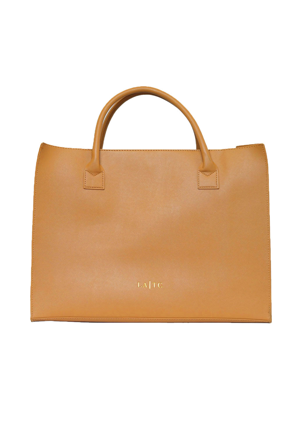 MODERN VEGAN TOTE - Low Key Boujee (Tan)