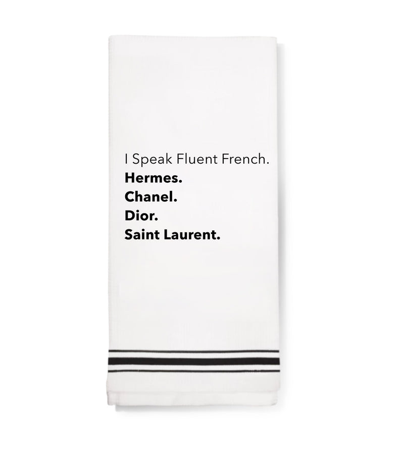 Towel - Fluent French
