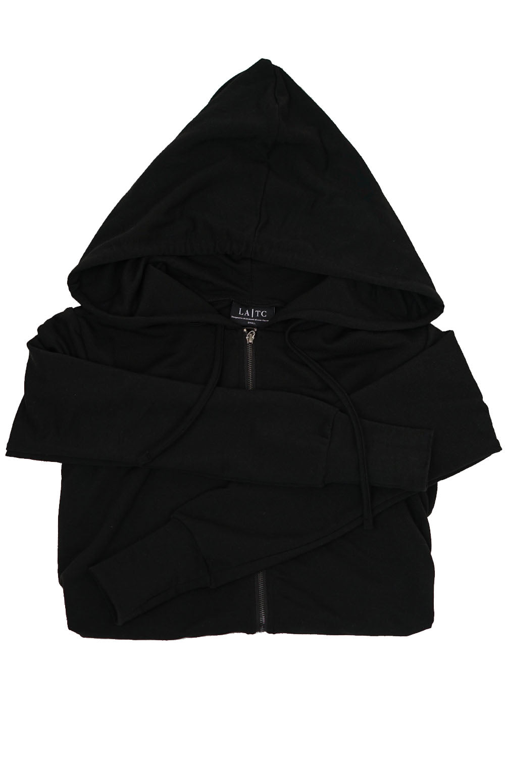 ZIP UP - Basic Black