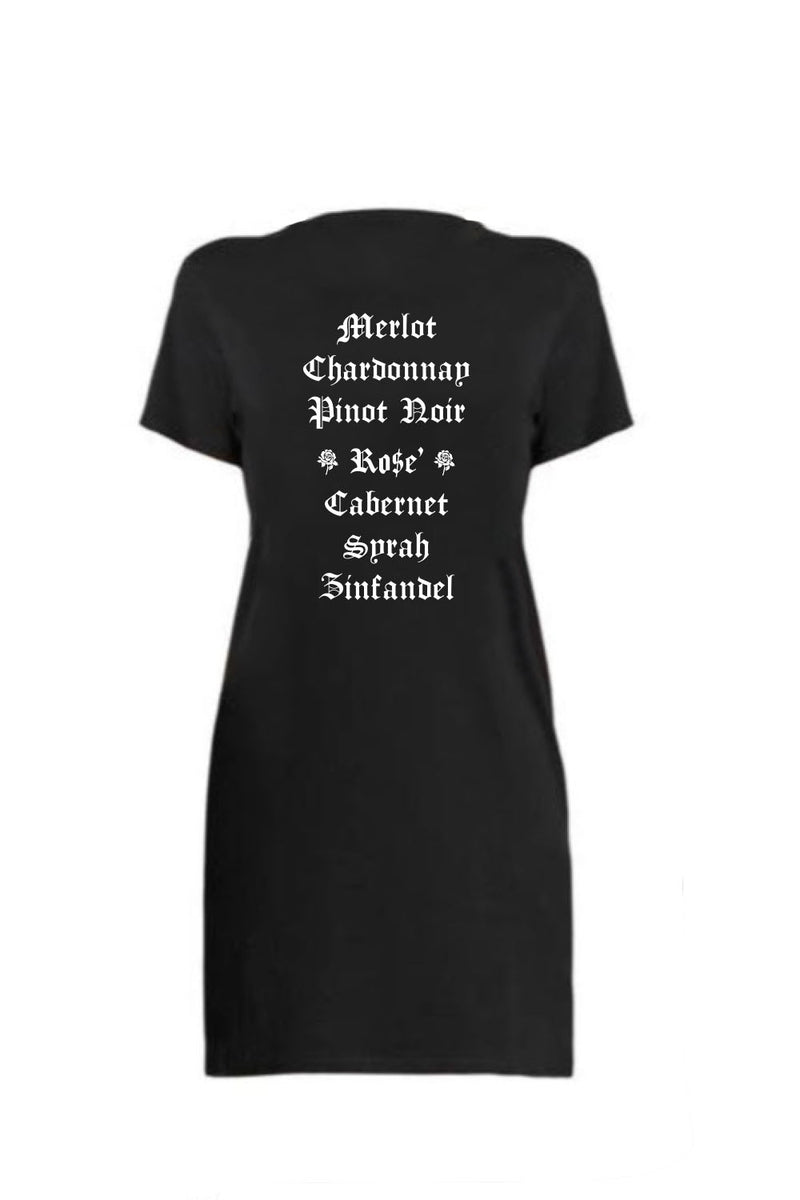 T-SHIRT DRESS - Wine List