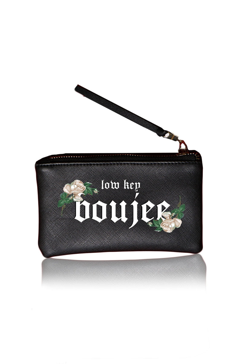 VEGAN POUCH - Low Key Boujee