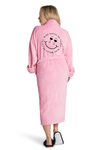 LUXE PLUSH ROBE PINK- Fluent French