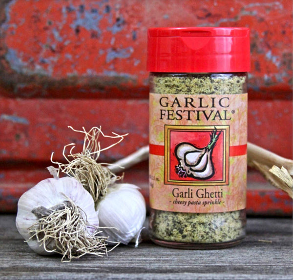 Garlic Festival Garli Ghetti Cheesy Garlic Sprinkle