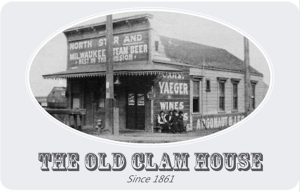 The Old Clam House Gift Card