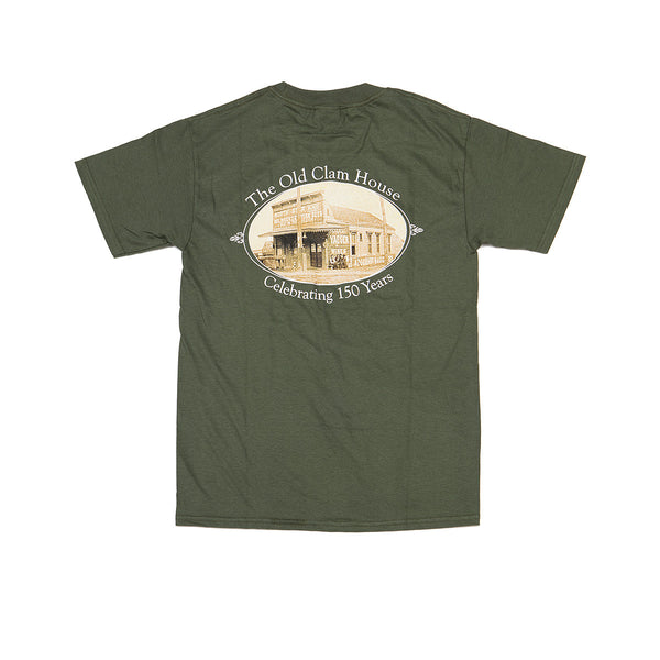 The Old Clam House Logo T-Shirt