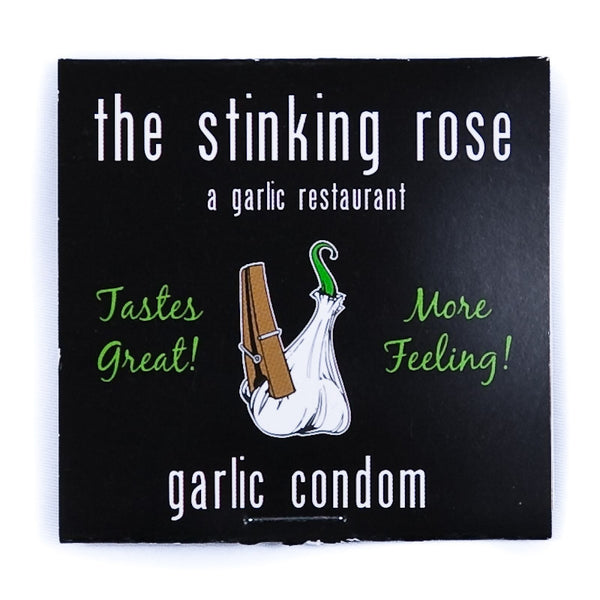 The Stinking Rose Garlic Condom