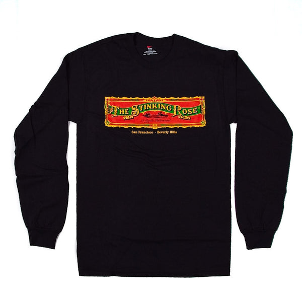 The Stinking Rose Logo Long Sleeve T-Shirt