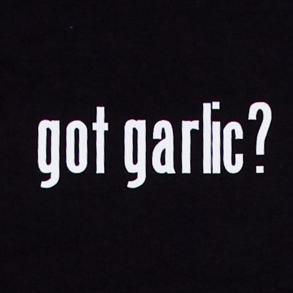 Got Garlic? T-Shirt, Black