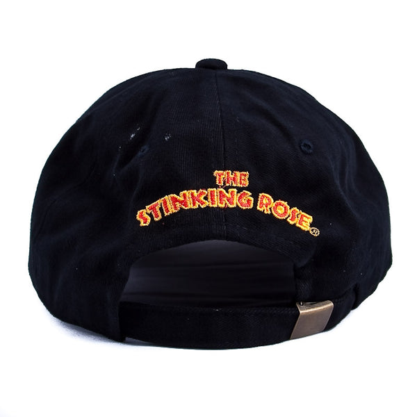 The Stinking Rose Logo Baseball Cap - Back