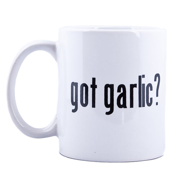 Got Garlic? White Mug