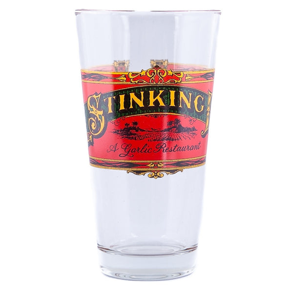 The Stinking Rose Logo Pub Pint Glass
