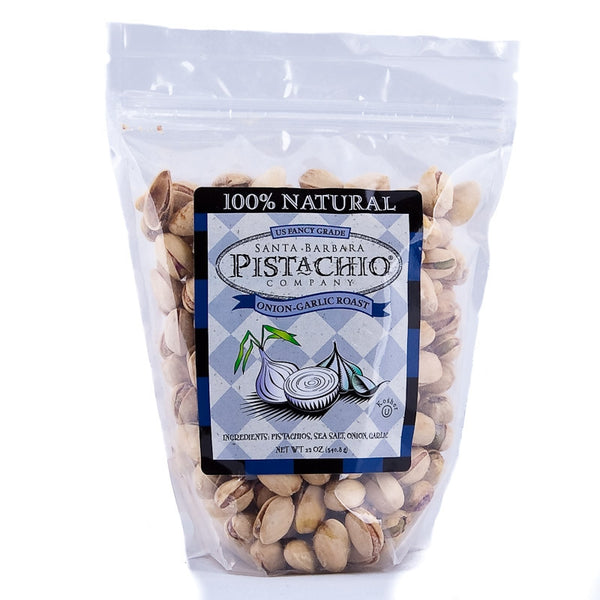 Santa Barbara Company Onion-Garlic Roast Pistachios