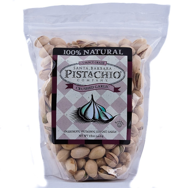 Santa Barbara Company Crushed Garlic Pistachios