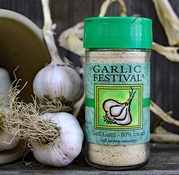Garlic Festival Low Sodium Garlic Garni Seasoning